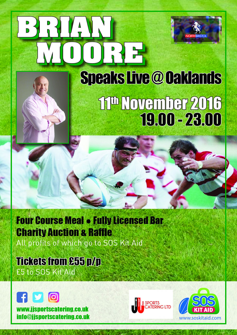 Our first Charity event and its a cracker, Brian Moore hosts an evening that's destined to go down as a classic night.