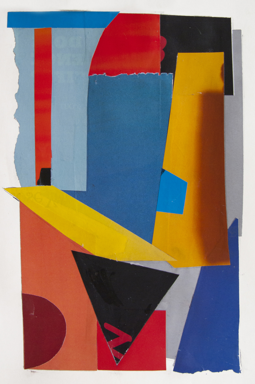 N , collage, 2012
