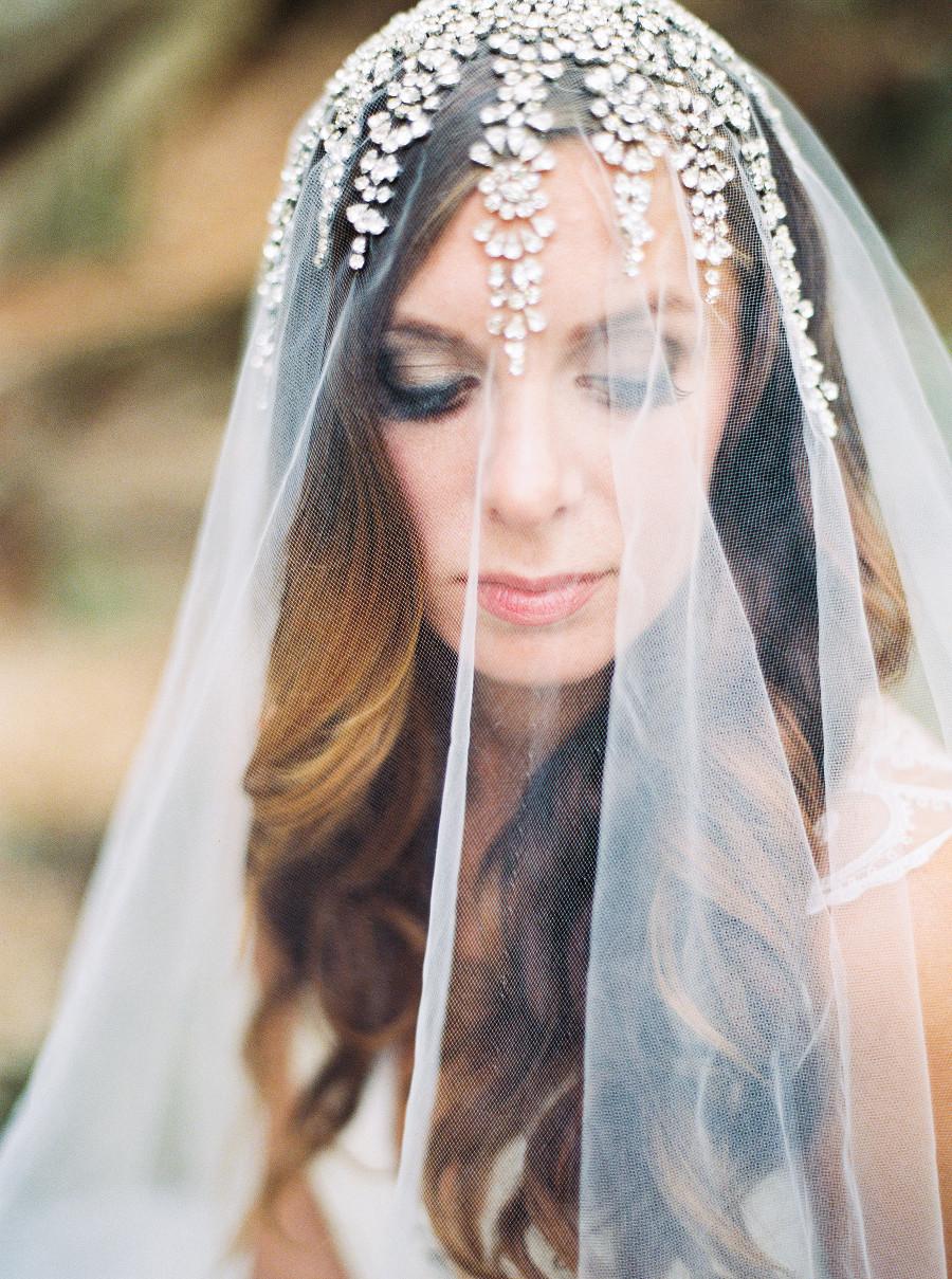 Trendy bridal headpiece - Featured In Trendy Bride Magazine Editorial Bridal Inspiration