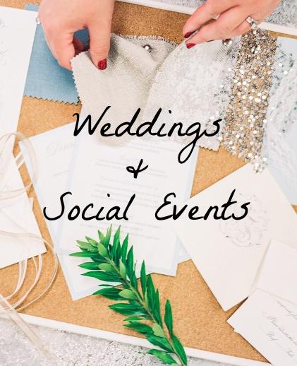 Weddings & Social Events