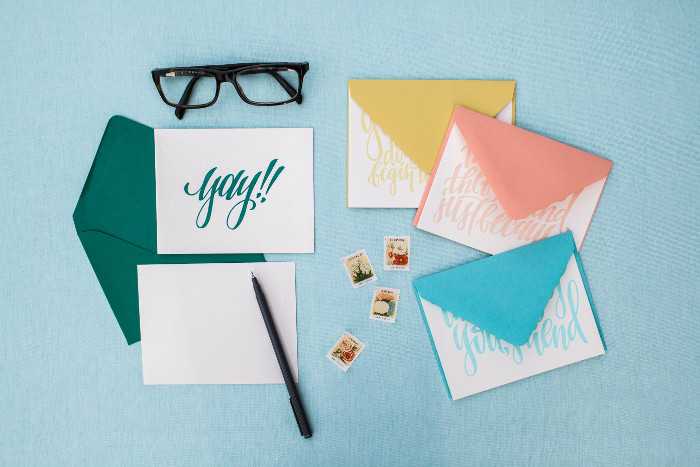 The Cheerful Box Stationery Set