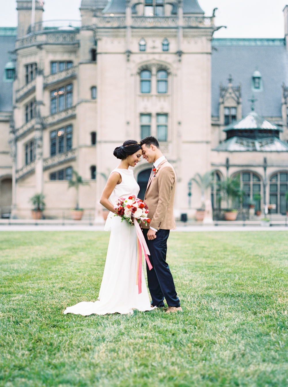 Biltmore Estate Wedding Front Lawn