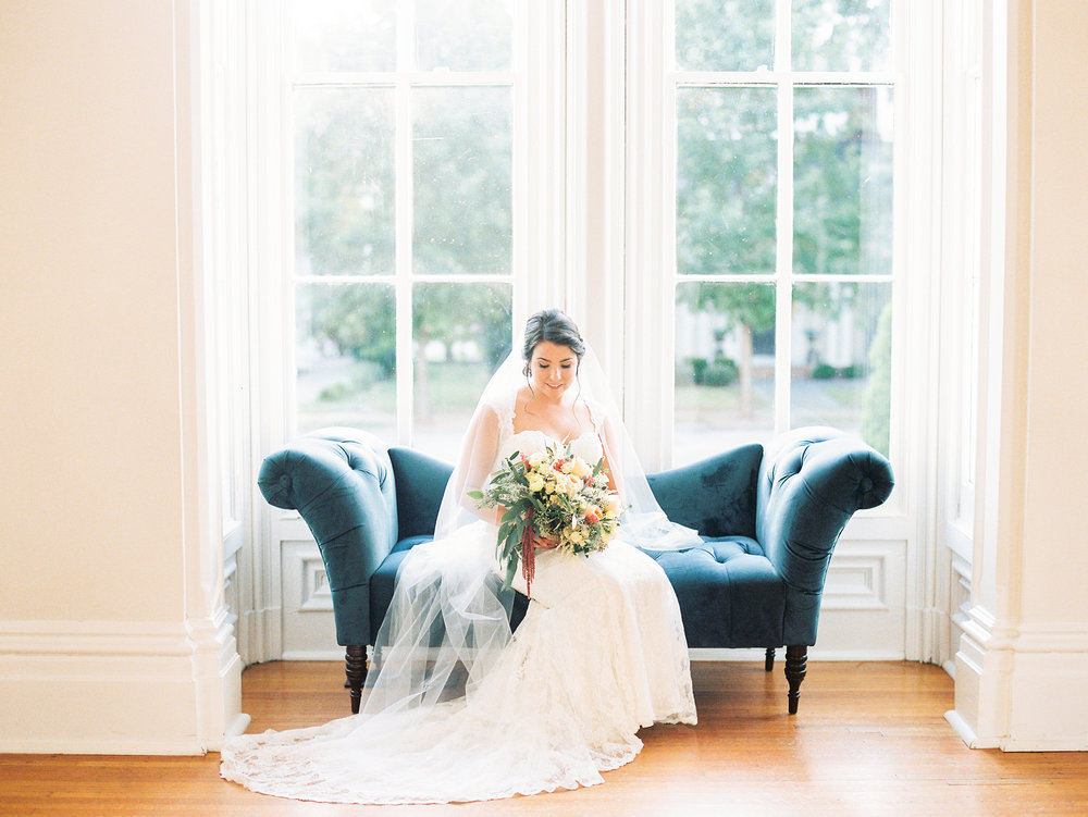 Photography by Callie Davis of  Nancy Ray Photography  | Venue:  The Merrimon-Wynne House  in Raleigh, North Carolina