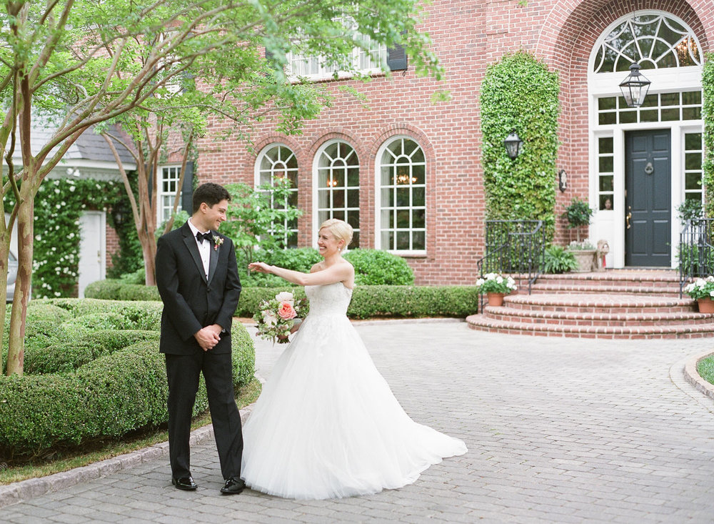 virginia beach, virginiaFrench Inspired Country Club Wedding - Lauren & Emanuel