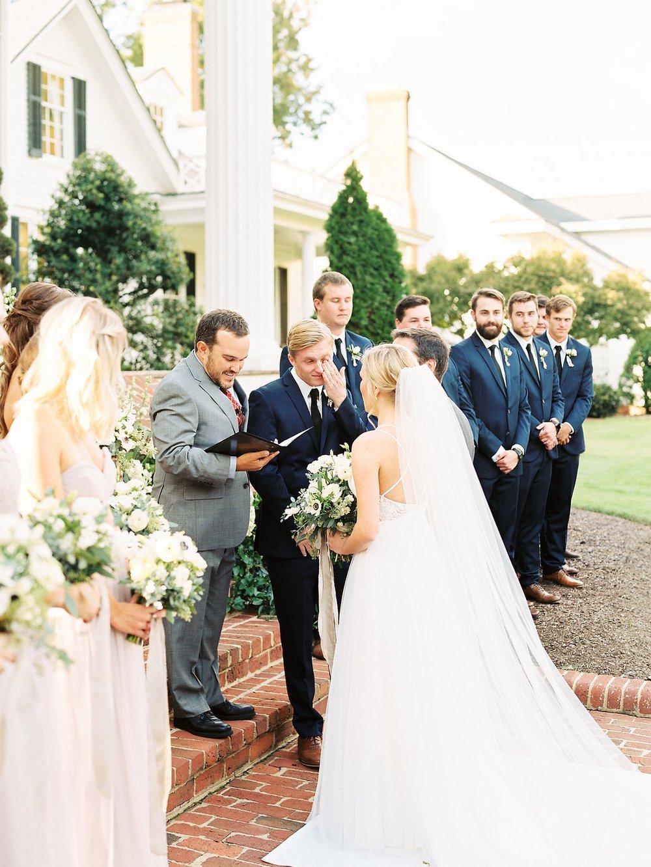 Wedding at Rose Hill Plantation