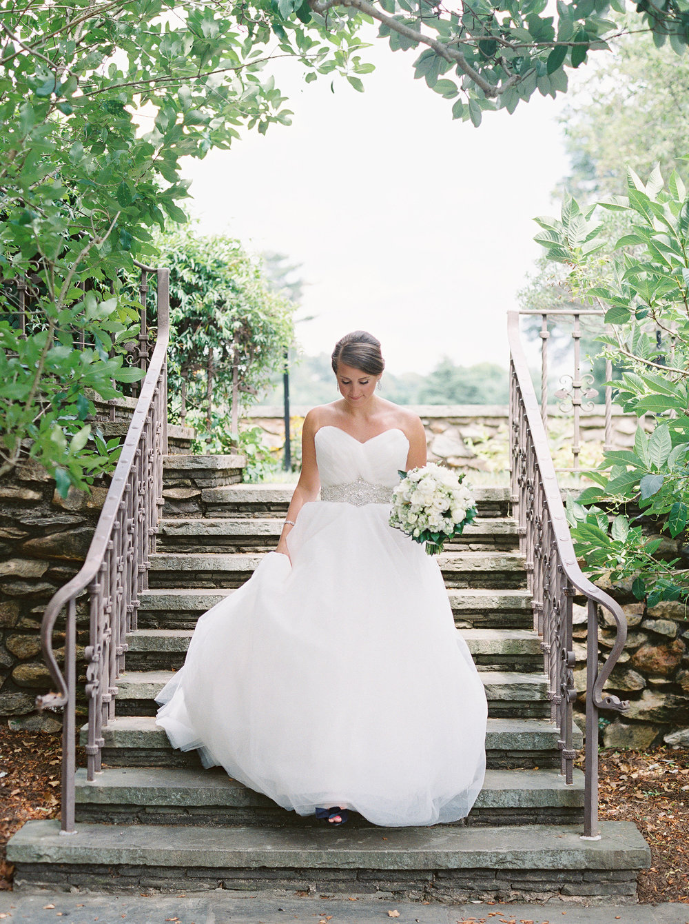 Bride at The Graylyn Estate