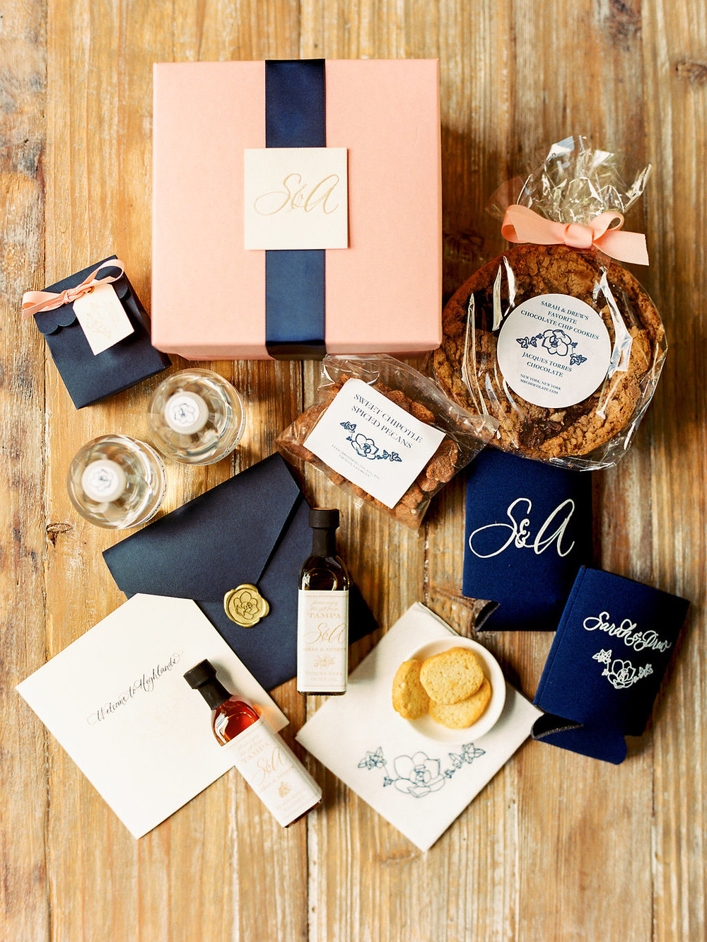 Custom Wedding Guest Welcome Box Destination Wedding