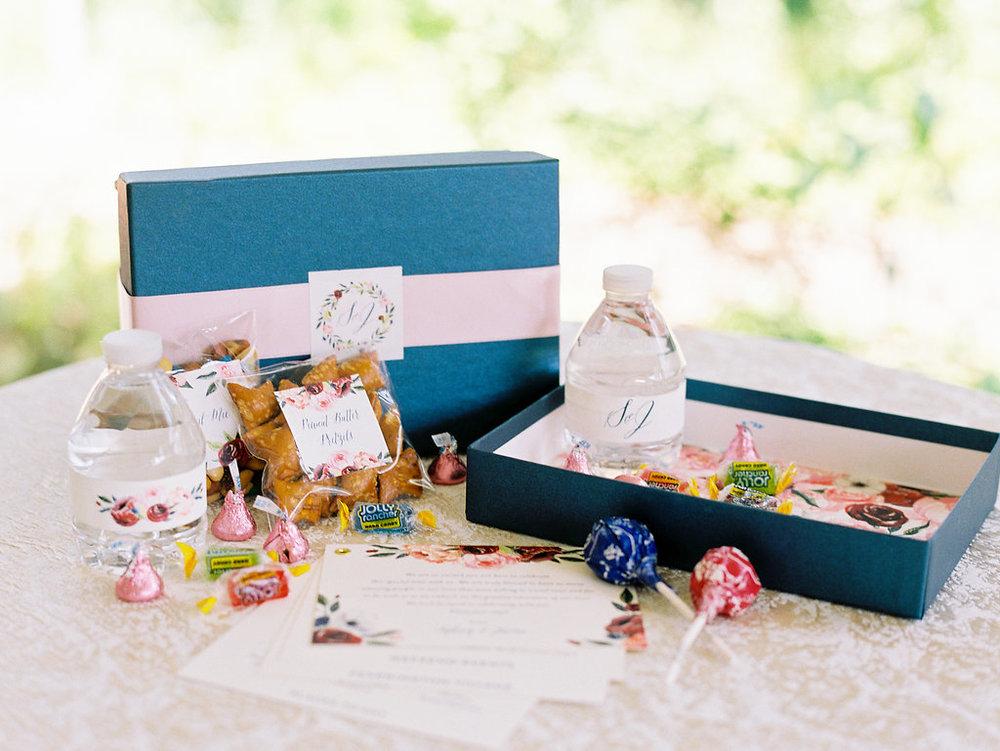 Custom Wedding Welcome Box