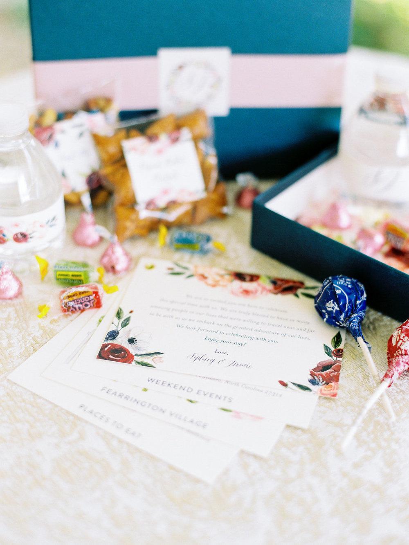 Custom Wedding Welcome Gifts