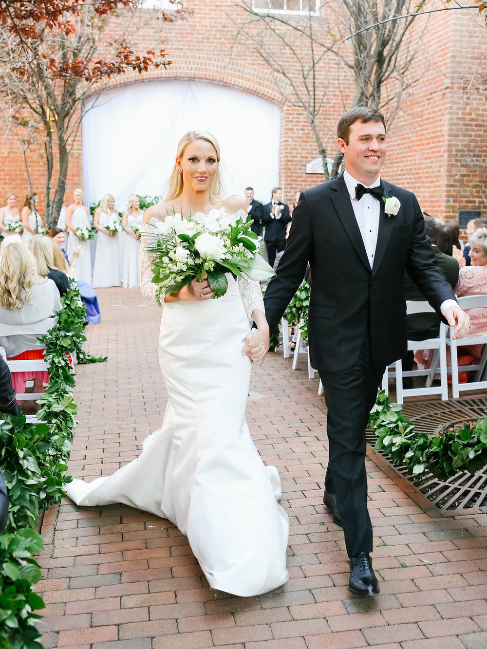 Newlyweds! Caroline and Kevin at the  Brookstown Inn  | Olivia Suriano for  Nancy Ray Photography