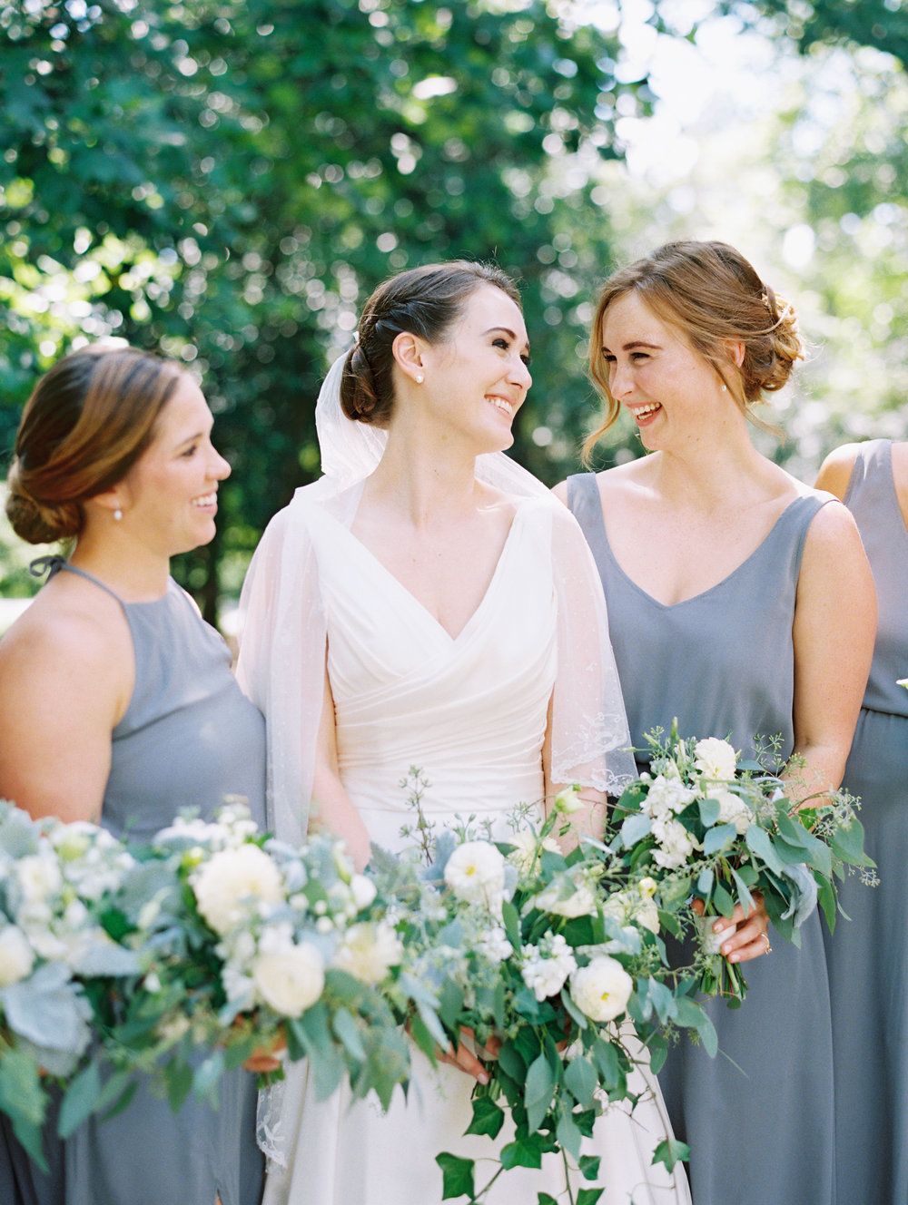 Love these three women! Caroline was married in August, and her sister, Laurian (left) was an RRE bride in 2012! | Photography by  Ally & Bobby