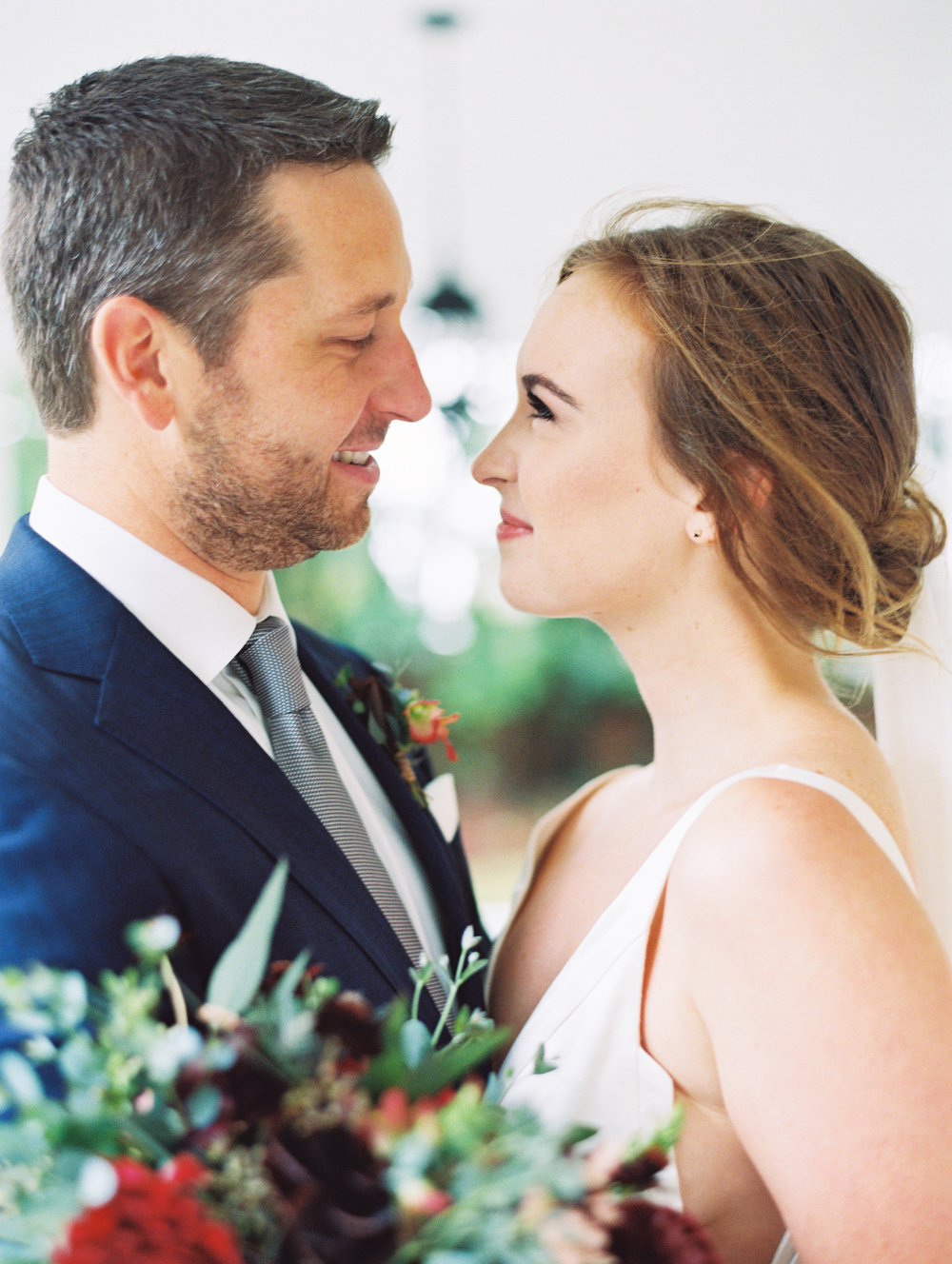 Just over one month later, Elena (also Caroline and Laurian's sister!) married Eli and celebrated with a beautiful reception at the  McAlister-Leftwich House  | Photography by  Ally & Bobby