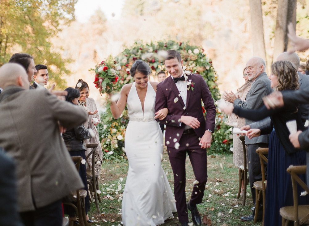 In early November, we celebrated with Meghan and Cole at their destination wedding in Asheville |  Theo Milo Photography