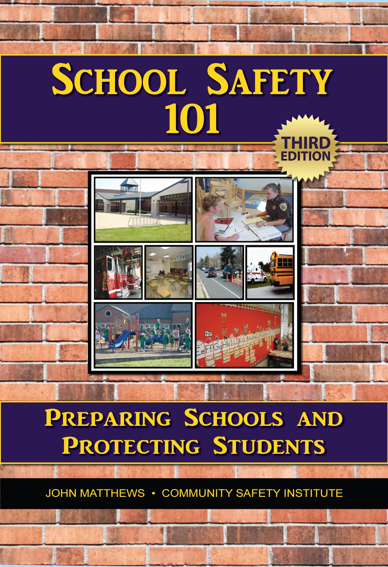 School Safety Book Cover