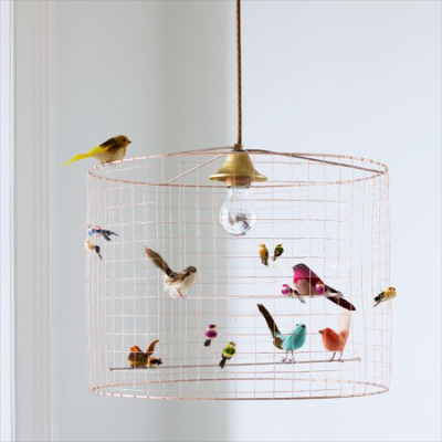 Image via  www.grahamandgreen.co.uk/VOLIÈRES BIRD CAGE CHANDELIER