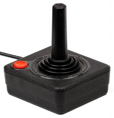The CLASSIC Atari Joystick. Image via Creative Commons