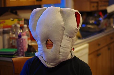 Ostrich pillow demonstration. / Image by Alex Lee