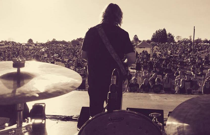 September 2016, Hartwood Acres, Pittsburgh, PA, Opening for Jim's former band Rusted Root