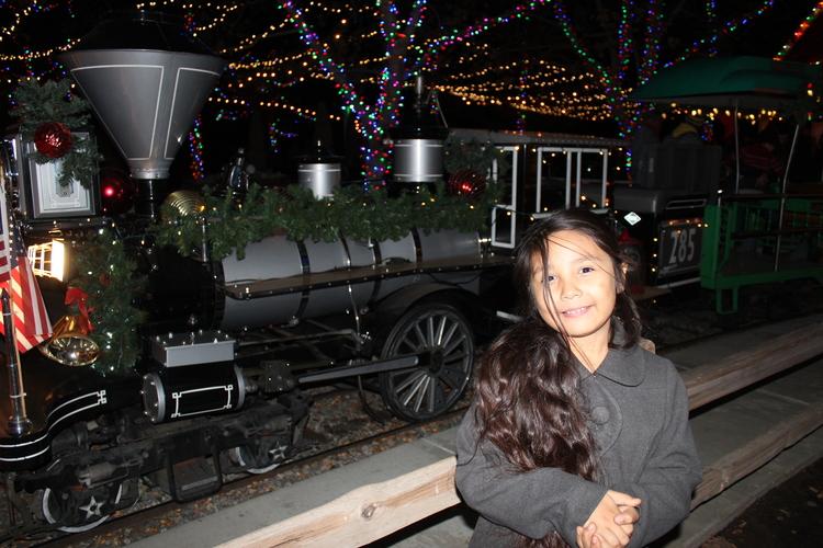 irvine park railroad christmas train - The Christmas Train