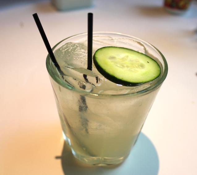 Cucumber Basil Gimlet