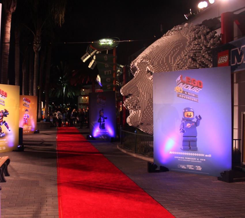 Red Carpet led the way!