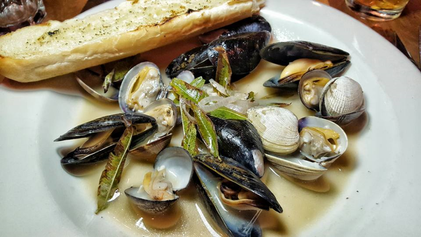 Salt Spring Mussels and Clams
