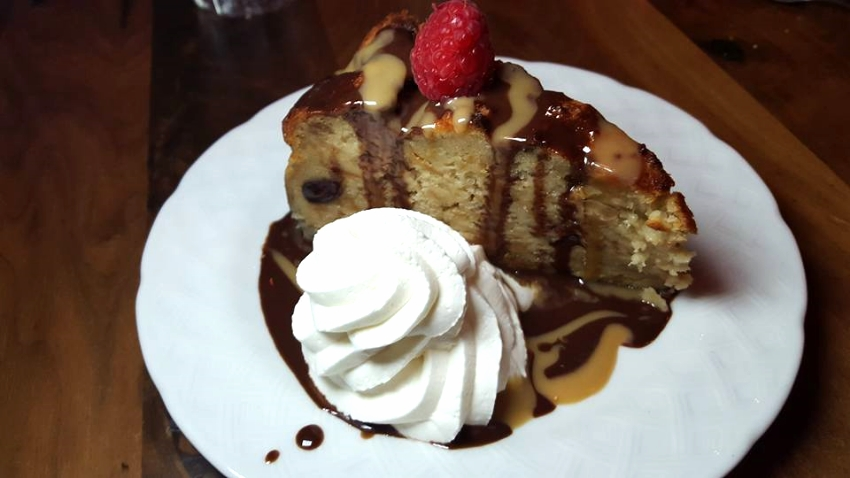 The Chocolate and Banana Bread Pudding