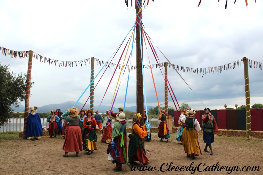 Grab a ribbon and dance around the MayPole