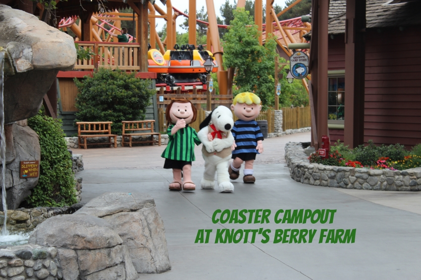 Enjoy early access to Camp Snoopy & Fiesta Village on 8/26
