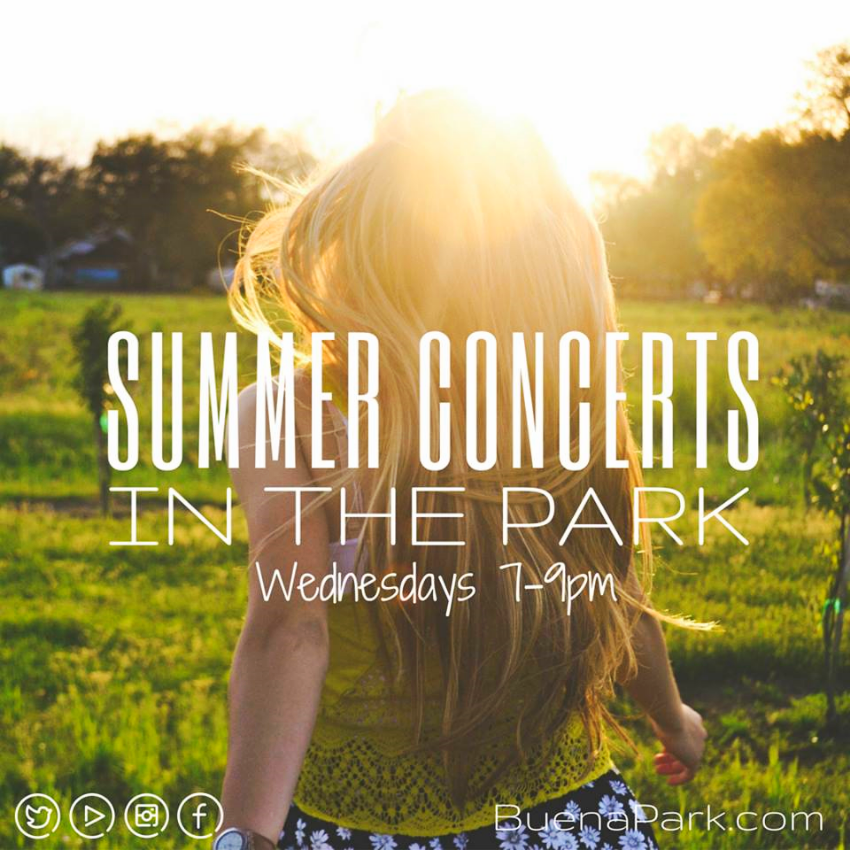 Summer Concerts in Buena Park