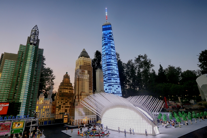 One World Trade Center and the all new remodeled NYC Miniland
