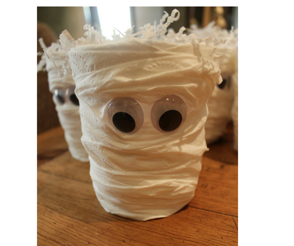 DIY Halloween Monster Party Favors (c) Cleverly Catheryn