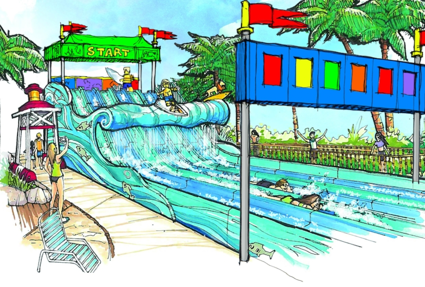 Concept rendering provided by: Legoland