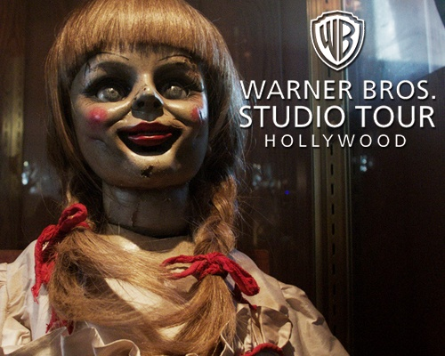 Be sure to say hello to Annabelle Photo Credit: Warner Bros. Studio