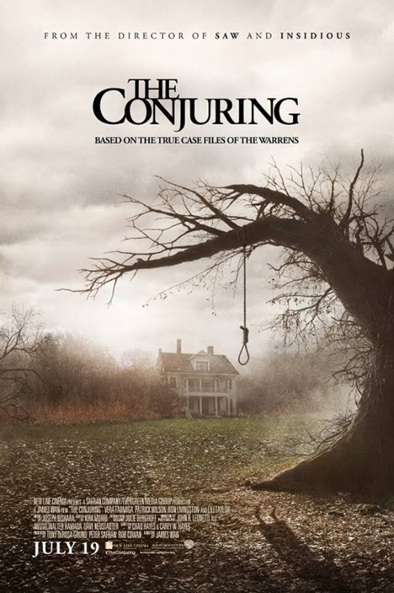 Enter to win both The Conjuring and The Conjuring 2 on DVD