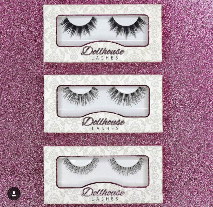 Photo Credit:  Dollhouse Lashes Starting at $7