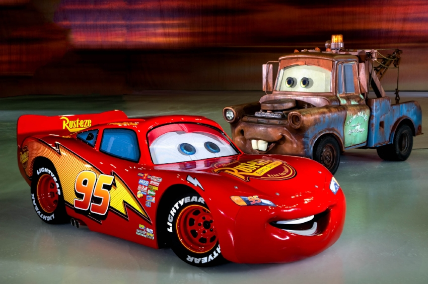 See the characters of Cars.... on ice! Photo Credit: Disney On Ice