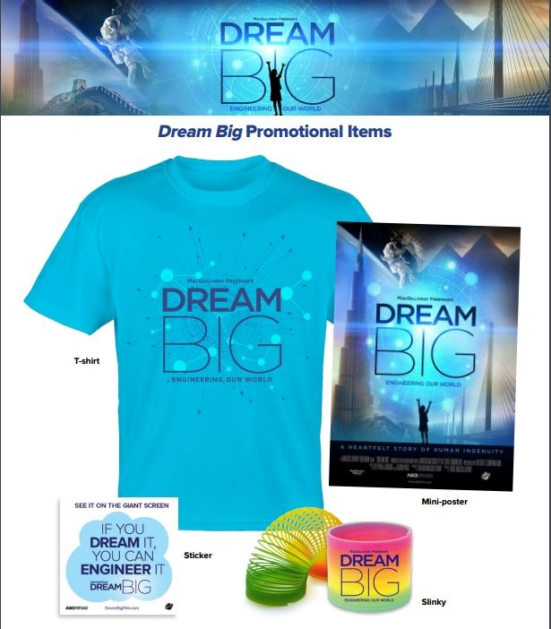 dream big giveaway items.JPG