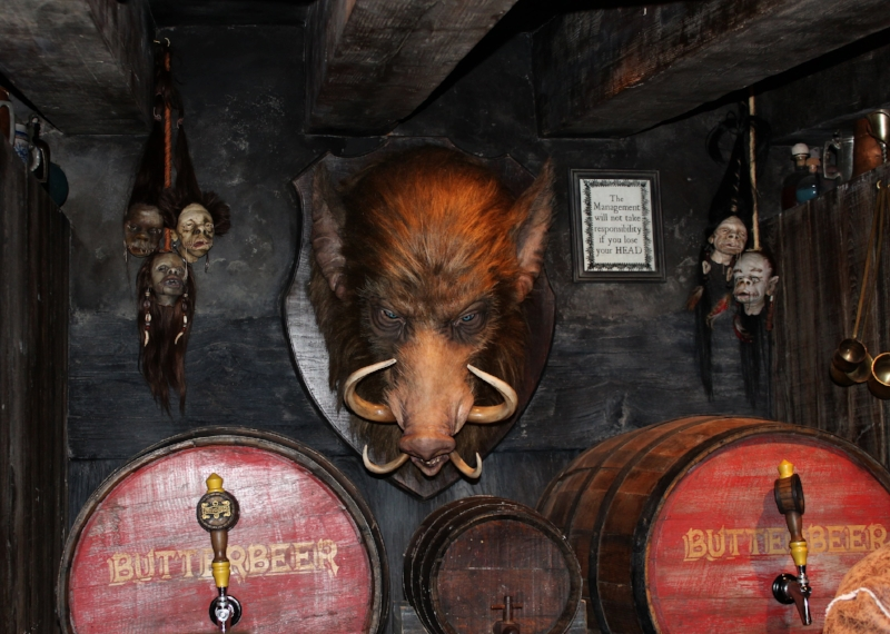 Boars Head inside Three Broomsticks