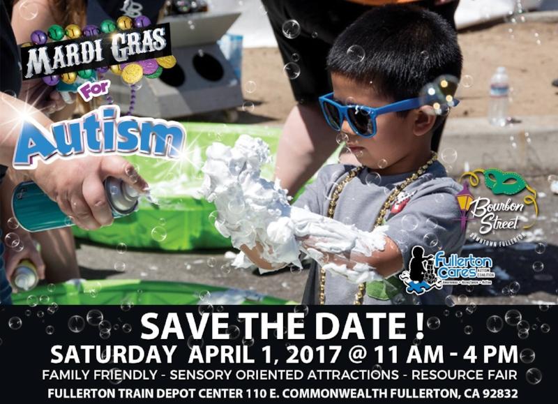 Mardi Gras for Autism