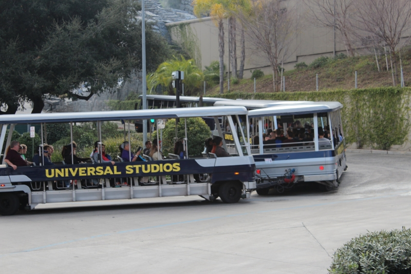 Studio Tour 50 Minutes Long and runs continuously throughout the day.