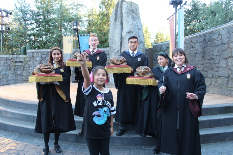 Bringing it home with the Frog Choir within the Wizarding World of Harry Potter