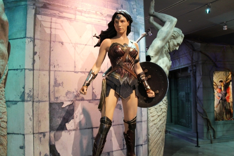 Wonder Woman props and original costumes coming July 31st to the DC Universe: The Exhibit