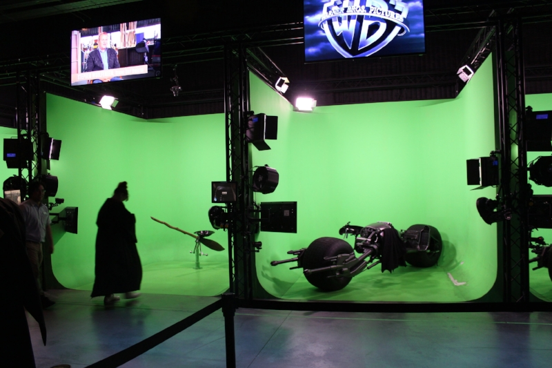 Join in the movie making magic yourself on Stage 48 by riding the Nimbus 2000 or Firebolt brooms seen in the Harry Potter film series or ride the Bat-pod through the streets of Gotham in our green screen experience just like the actors do while filming.