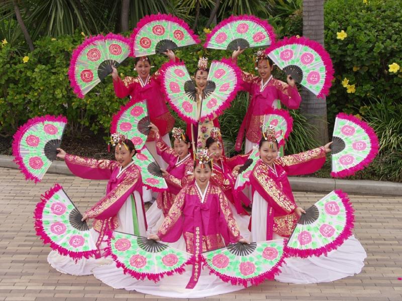 Korean Dancers Photo Credit: Aquarium of the Pacific