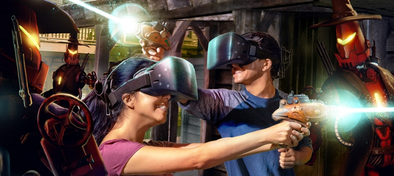VR Showdown In Ghost Town Photo Credit: Knott's Berry Farm (get a Game Card, this is an additional $6 per player)