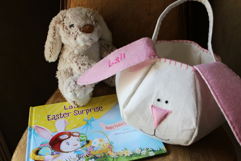 Easter Surprise and Plus Set Plus Loppy Basket shown above. (sold separately )