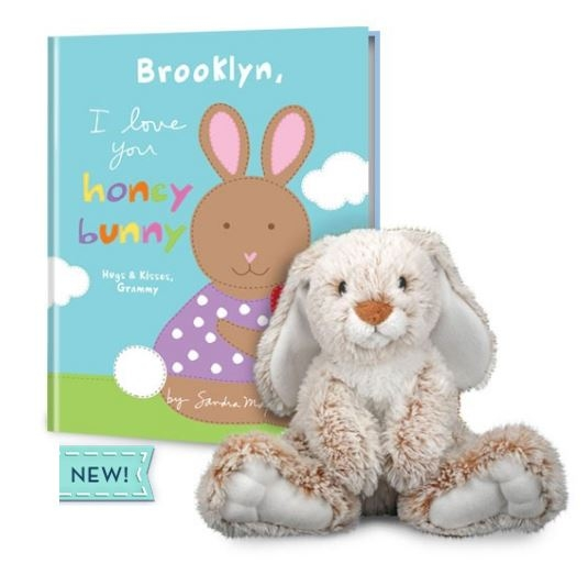 Another cute option for Easter and can be ordered with or without the Plush.