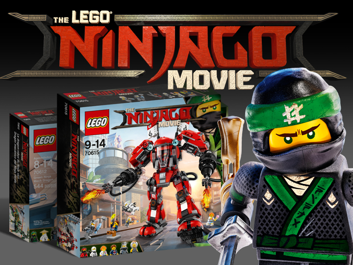 Lego Ninjago Movie sets