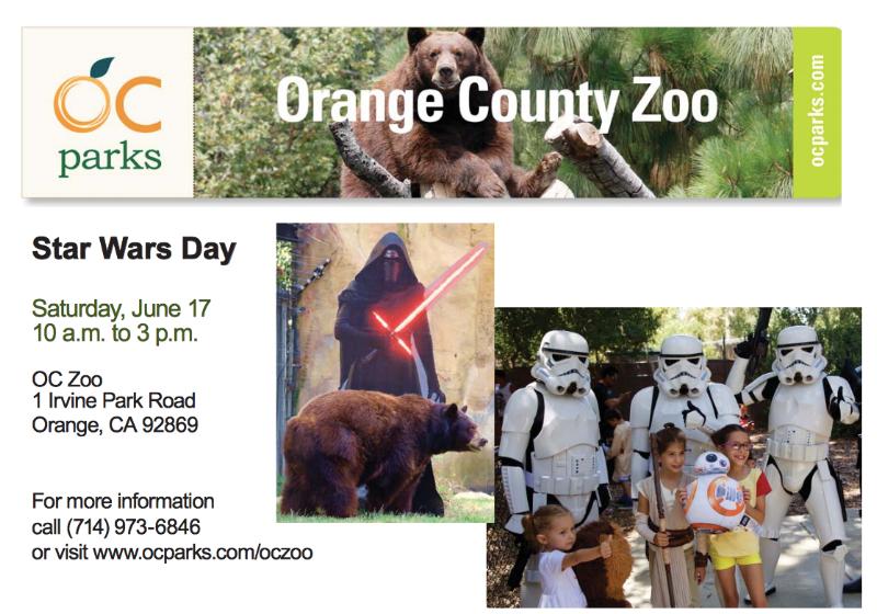 OZ Zoo Star Wars Days